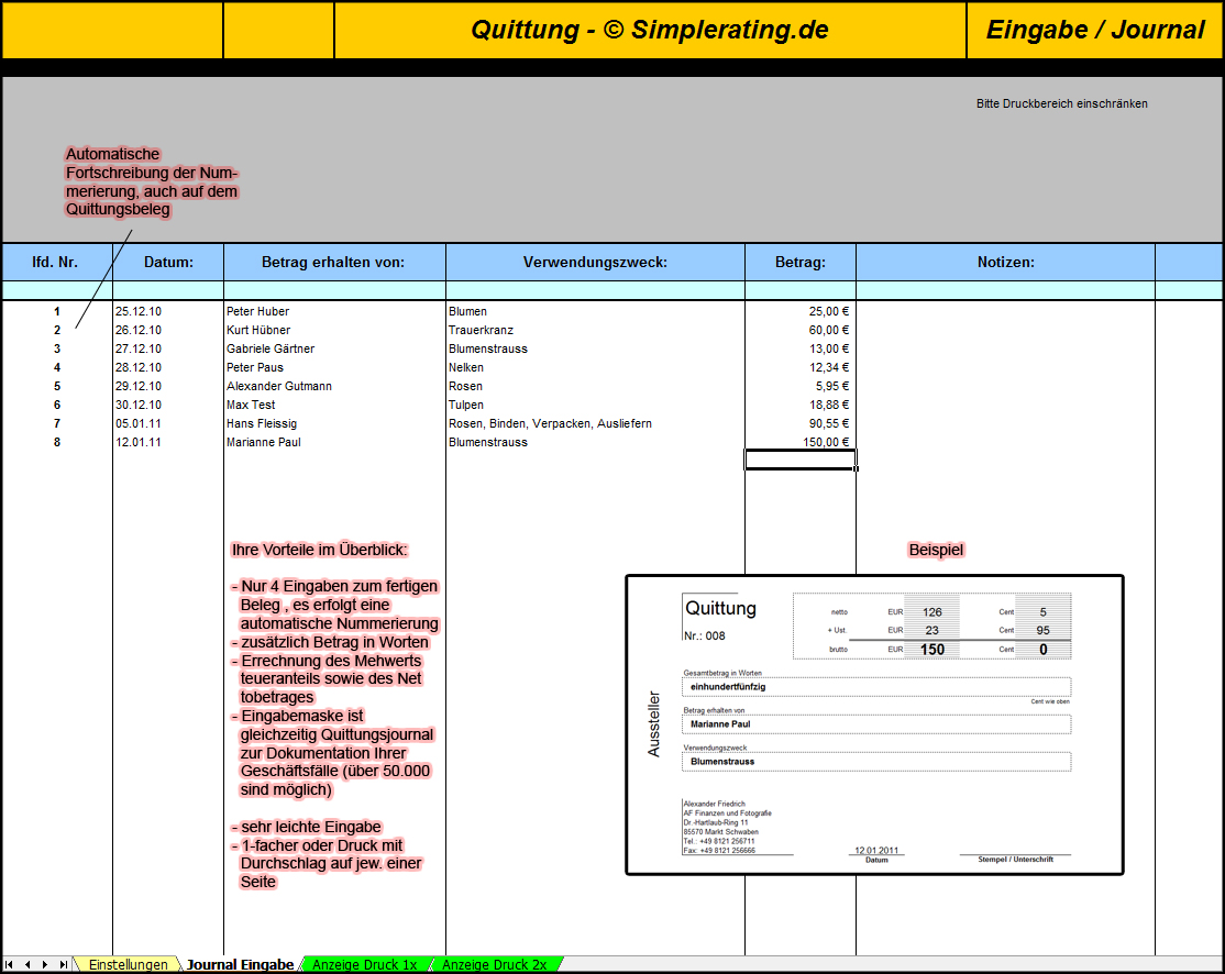 Nett Mietquittungsvorlagen Zeitgenössisch - Entry Level Resume ...